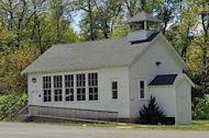 School house in Jackson, MI, at Bean Elementary School