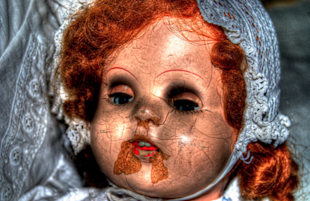 Cracked Doll Face Nightmare