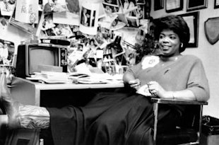 AP: Oprah Winfrey at the start of her extraordinary career