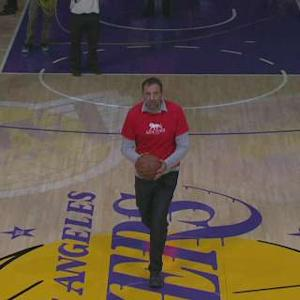 Vlade Divac from Half Court