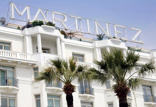 <p>The Martinez Hotel in Cannes is shown in 2005. US hotel group Starwood Capital is to sell four key French properties, including the famed Martinez in Cannes and the Concorde Lafayette in Paris, to a Qatari investor.</p>