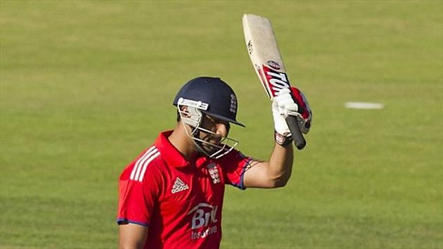 Ravi Bopara hit a century in the warm-up game against Ireland