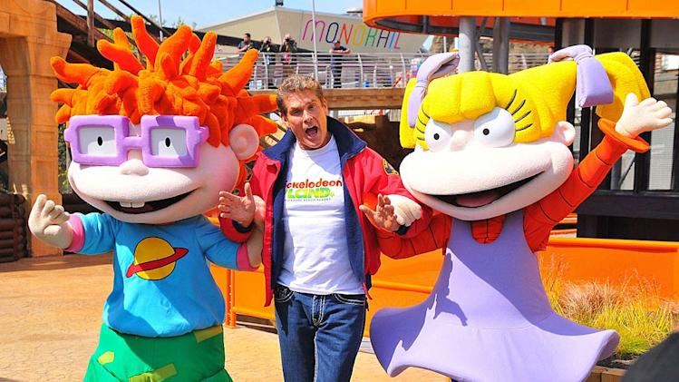 David Hasselhoff Nickelodeon Land