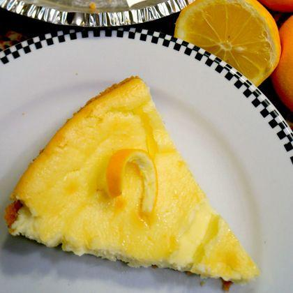 Meyer Lemon Mascarpone Cheesecake