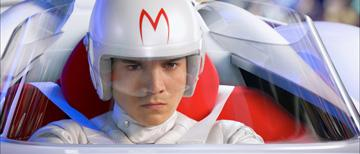 Emile Hirsch as Speed in Warner Bros. Pictures' Speed Racer