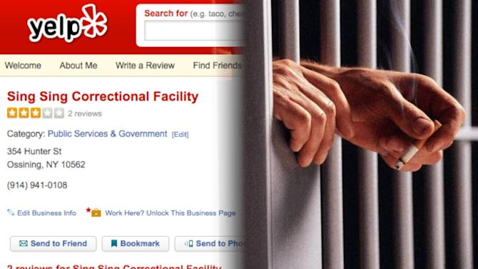 Inmates Have Taken to Reviewing Prisons on Yelp!