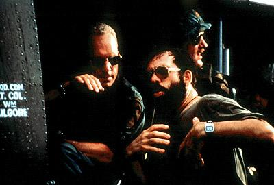 Robert Duvall and Francis Ford Coppola on location for the original Apocalypse Now , re-released as Apocalypse Now Redux in 2001