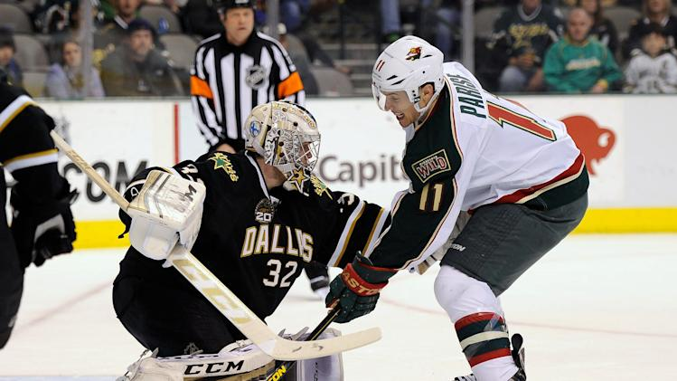 NHL: Minnesota Wild at Dallas Stars