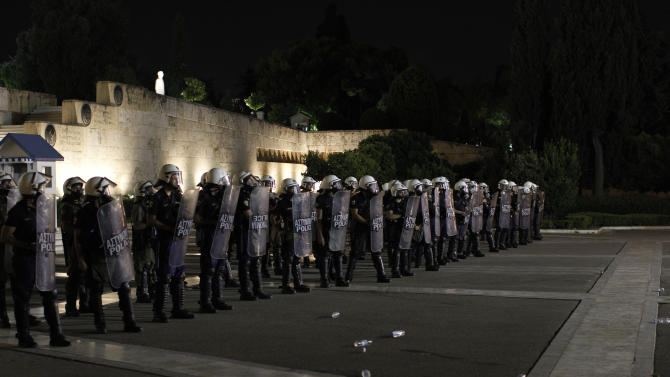 Greece: 4,000 police on duty for Schaeuble visit