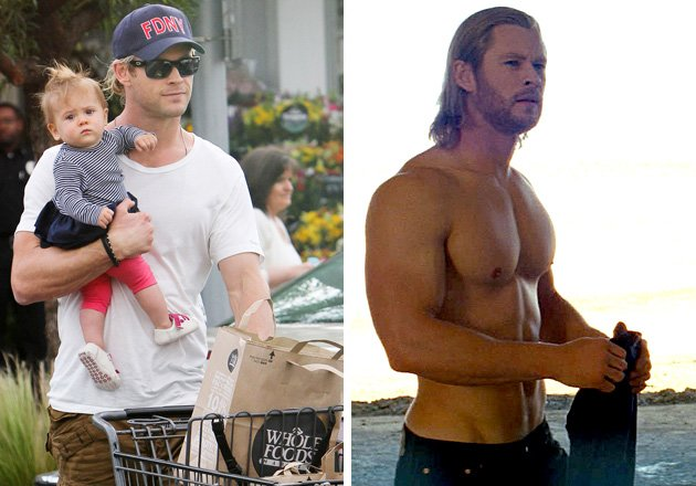 Chris Hemsworth vs. Matthew McConaughey: Who's the Hotter Dad?