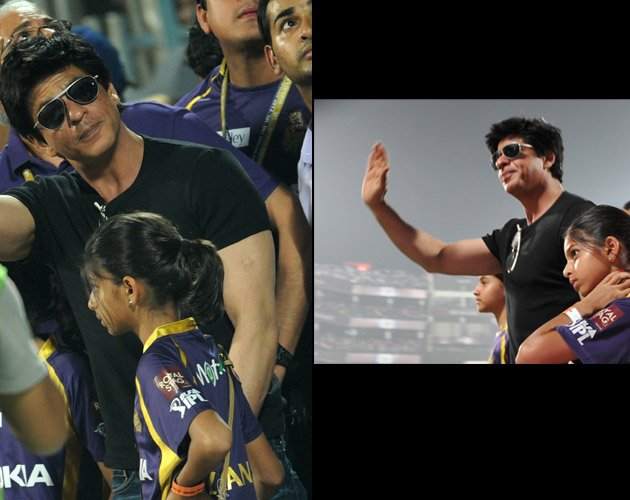 SRK girl's super- chic IPL outing