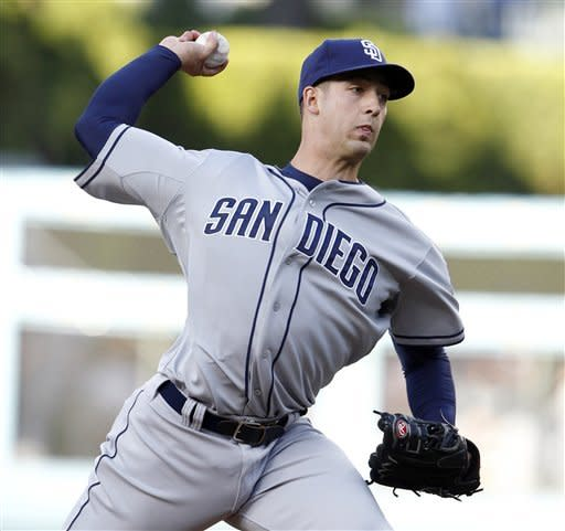 Lilly's debut a gem, Dodgers beat Padres 6-1