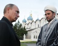 &lt;p&gt;Russian leader Vladimir Putin (left) speaks with Mufti Ildus Faizov during a 2011 visit to Kazan, the capital of Tatarstan. The Islamic leader of Tatarstan -- Russia&#39;s largest Muslim region -- was wounded and his deputy was killed in two separate attacks, investigators said.&lt;/p&gt;