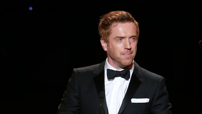Damian Lewis onstage at the 24th Annual Producers Guild (PGA) Awards at the Beverly Hilton Hotel on Saturday Jan. 26, 2013, in Beverly Hills, Calif. (Photo by Todd Williamson/Invision for The Producers Guild/AP Images)