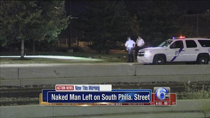 No charges in half-naked man South Philadephia incident