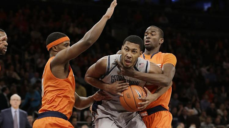Georgetown-Syracuse rivalry to resume in 2015