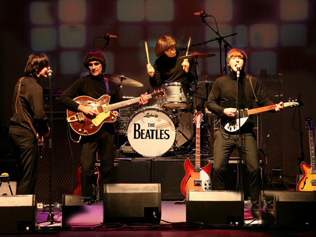 The Bootleg Beatles have brought the experience of watching The Beatles live to audiences in more than 4,000 performances round the globe. (Photo courtesy of BASE Entertainment Asia)