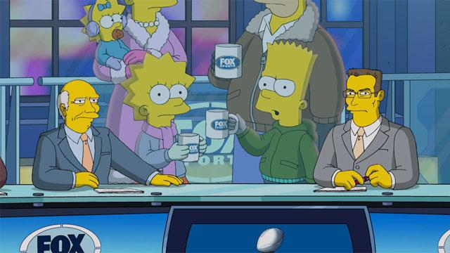 'The Simpsons' Super Bowl Promo