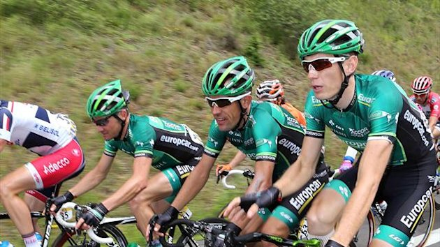 Thomas Voeckler, Anthony Charteau, Pierre Rolland Team Europcar