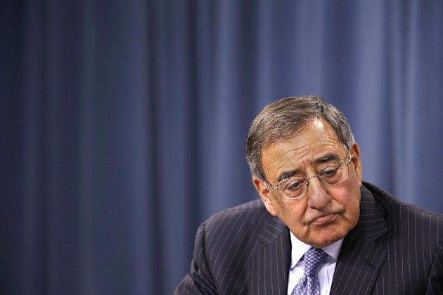Defense Secretary Leon Panetta listens to a question duirng at a news conference at the Pentagon, Thursday, Sept. 27, 2012. (AP Photo/Jacquelyn Martin)