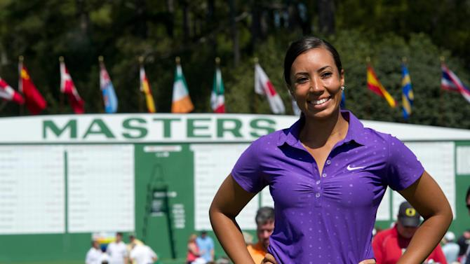 Golf: The Masters-Practice Round