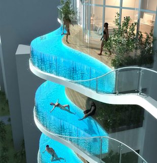 Balcony Pools