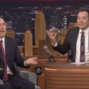 Jerry Seinfeld and Jimmy Fallon Gush Over Each Other