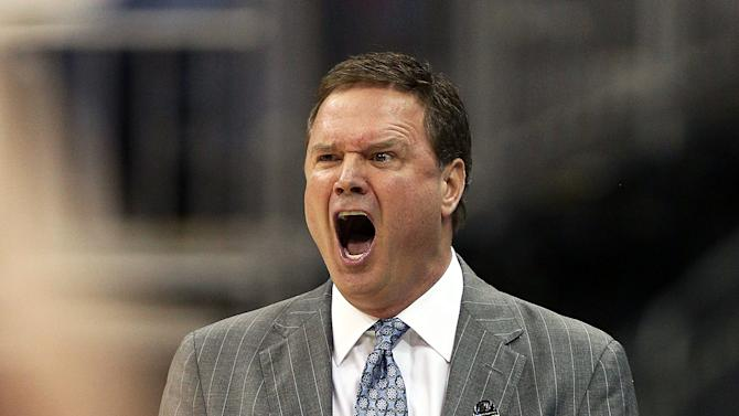 Bill Self of the Kansas Jayhawks
