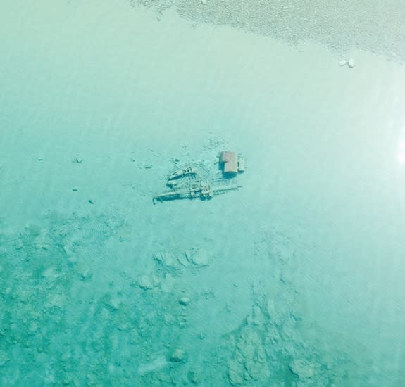 Shipwrecks Spotted in Crystal-Clear Waters of Lake Michigan