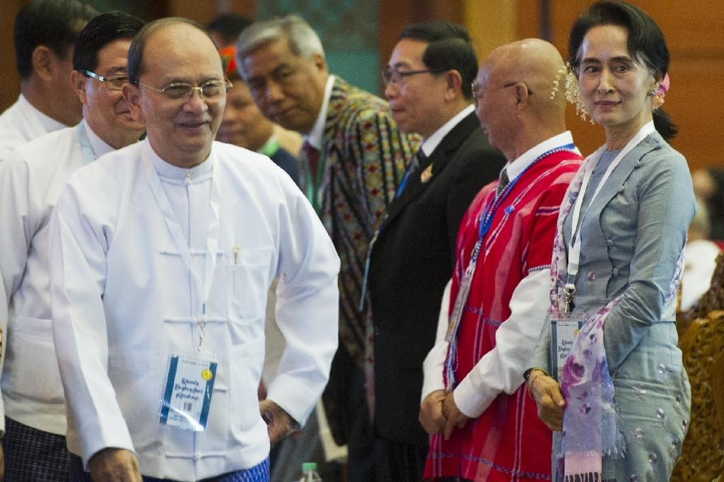 Outgoing Myanmar president cancels US visit to monitor political transition