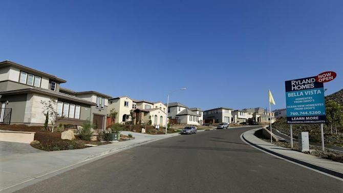 A view of single family homes for sale in San Marcos