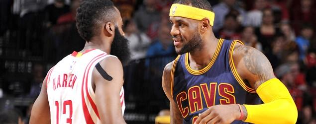 Harden suspended for kicking LeBron in the groin