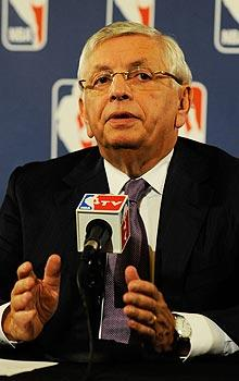 Stern, Hunter lose sight of NBA season