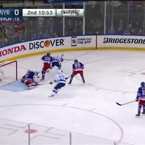 Henrik Lundqvist Save on Alex Killorn(09:07/2nd)