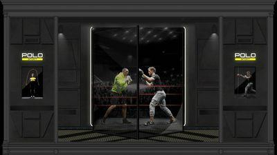 Holograms Are Boxing in Polo Ralph Lauren's Fifth Avenue Windows Right Now