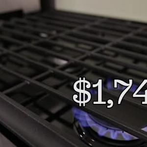 Whirlpool's Gold Series gas oven looks great but cooks slowly