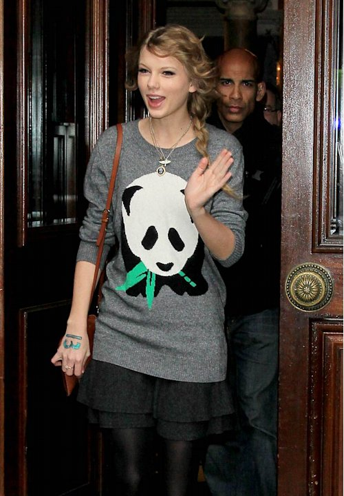 Taylor Swift Mandarin Hotel