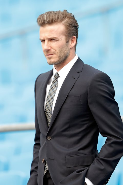 David Beckham Visits Beijing Guo'an Football Club