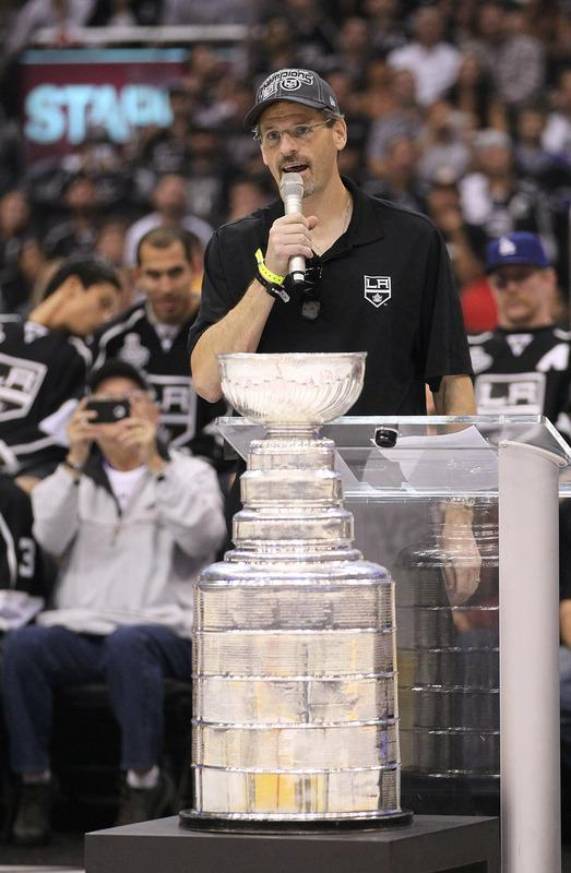 Vice President/Assistant General Manager Ron Hextall Of The Los Angeles Kings Addresses Getty Images