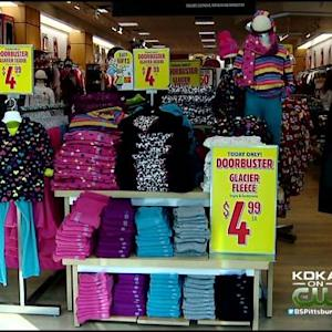 Younger Crowd Takes To Malls For Black Friday Shopping