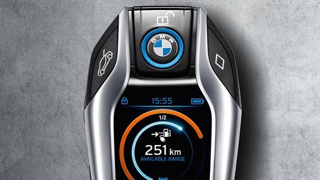 The BMW i8 might get the coolest key of all time
