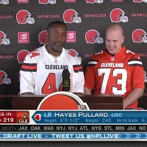 Cleveland Browns pick linebacker Hayes Pullard No. 219 in 2015 NFL Draft