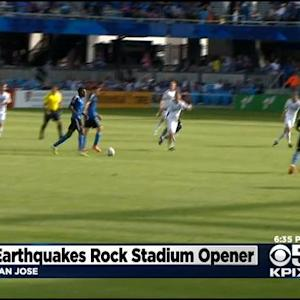 San Jose Earthquakes Open New Stadium With Win