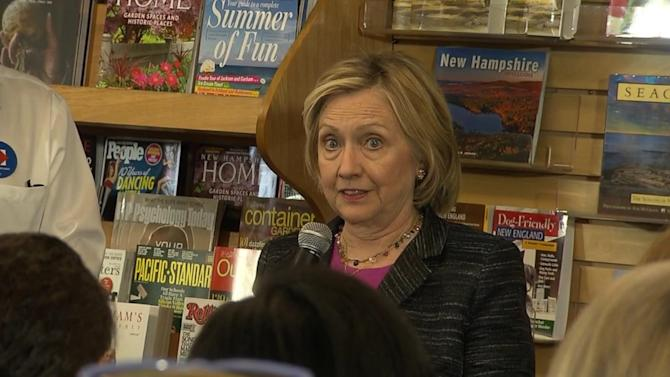 Hillary Clinton: 'I'm Not Running for My Husband's Third Term and I'm Not Running for Barack Obama's Third Term'