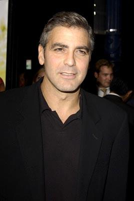 George Clooney at the LA premiere of Universal's Intolerable Cruelty