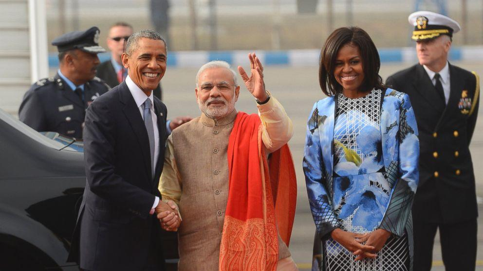 Michelle Obama Has India Buzzing About Her Outfit