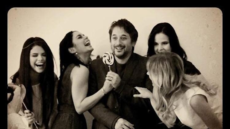 Selena Gomez, Vanessa Hudgens, Harmony Korine, Rachel Korine and Ashley Benson
