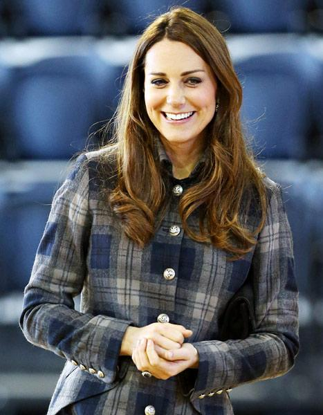 "Kate Middleton on Baby Names: ""My Friends Keep Texting Me"" Suggestions"