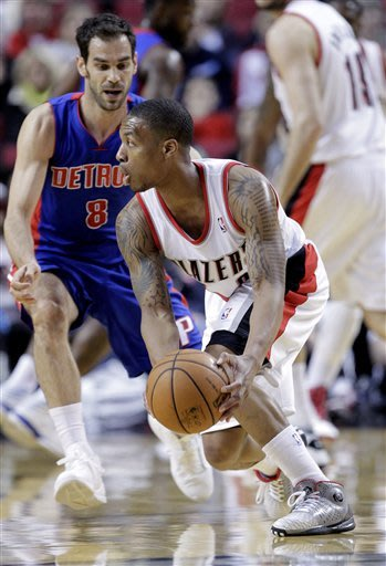 Aldridge has 31, Portland beats Detroit 112-101