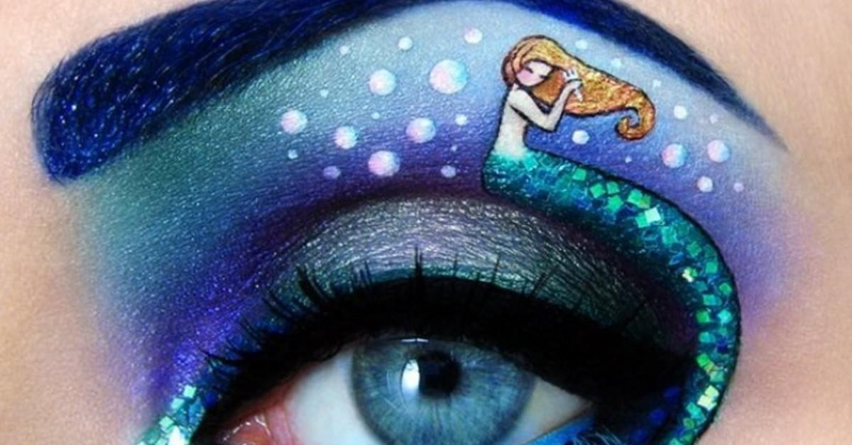 17 Over-The-Top Works Of Eye Shadow Art